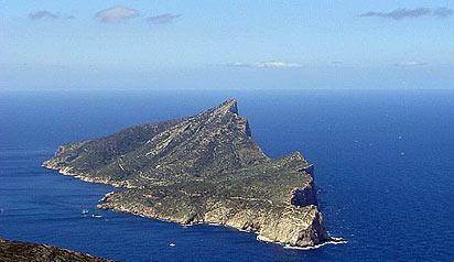 Sa Dragonera ved Sant Elm på Mallorcas vestkyst