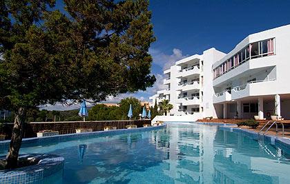 Ferrera Beach lejlighedshotel på Mallorca